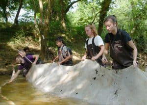 WPU students research PCB, a known carcinogen, in Crabtree Creek