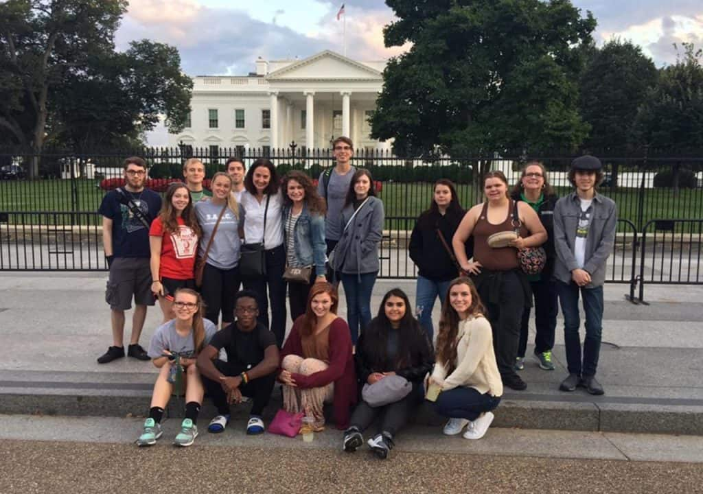 WPU Honors students visit Washington,, DC for an immersive learning trip