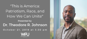 Dr. Theodore R. Johnson 1 300x135 - Dr. Theodore R. Johnson to Speak at William Peace University
