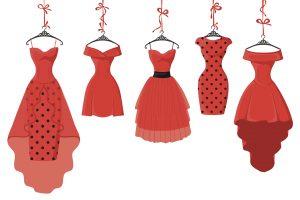 Promo image for WPU Theatre production, Five Women Same Dress.
