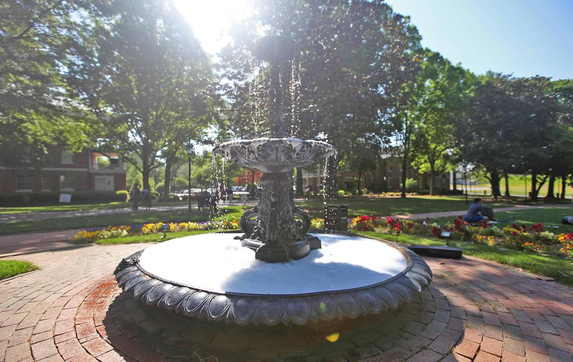 Fountain on Main Lawn