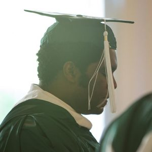 Male WPU student reflects on graduation.