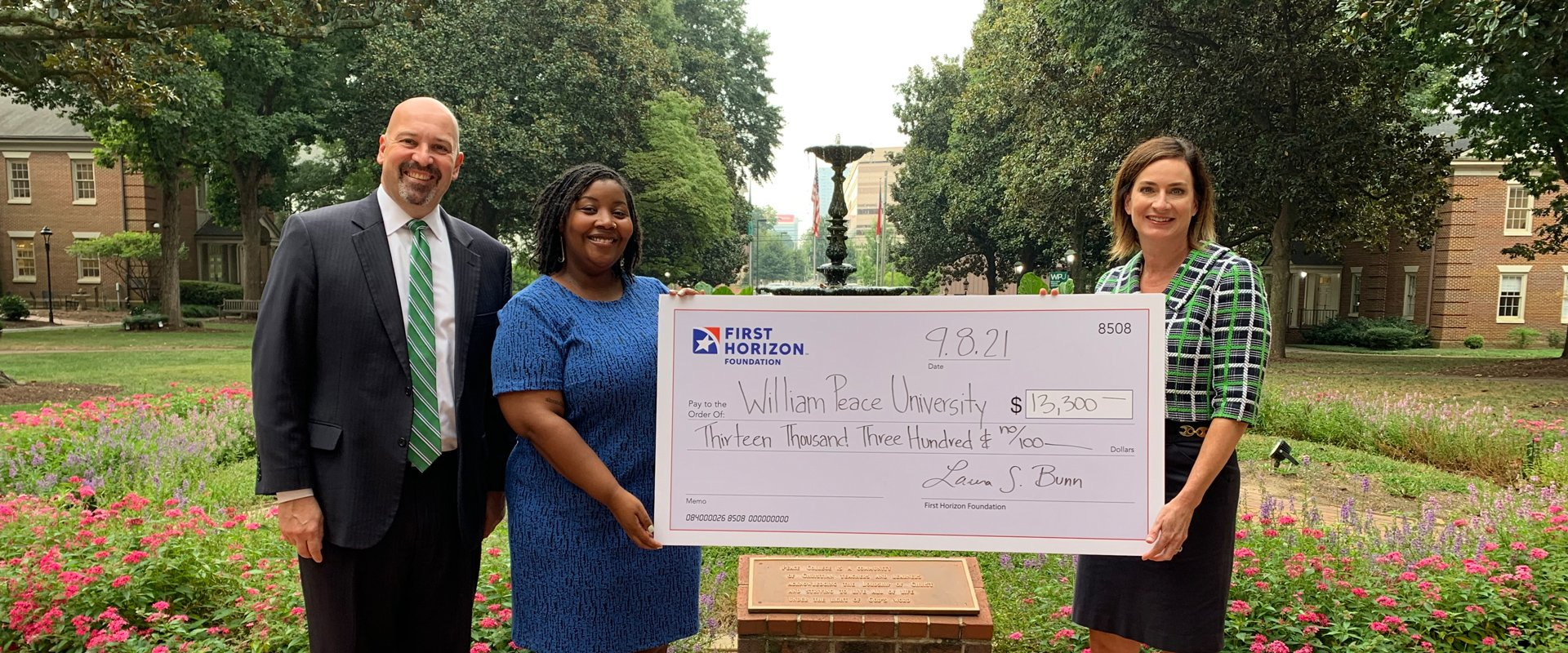 First Horizon donation to WPU for DEI (hero)