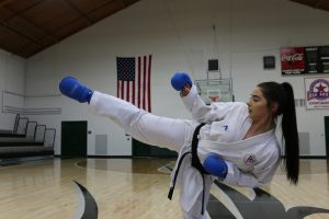 IMG 7811 300x200 - #PrepareAtPeace: WPU Student Competing for Spot on USA Karate Olympic Team