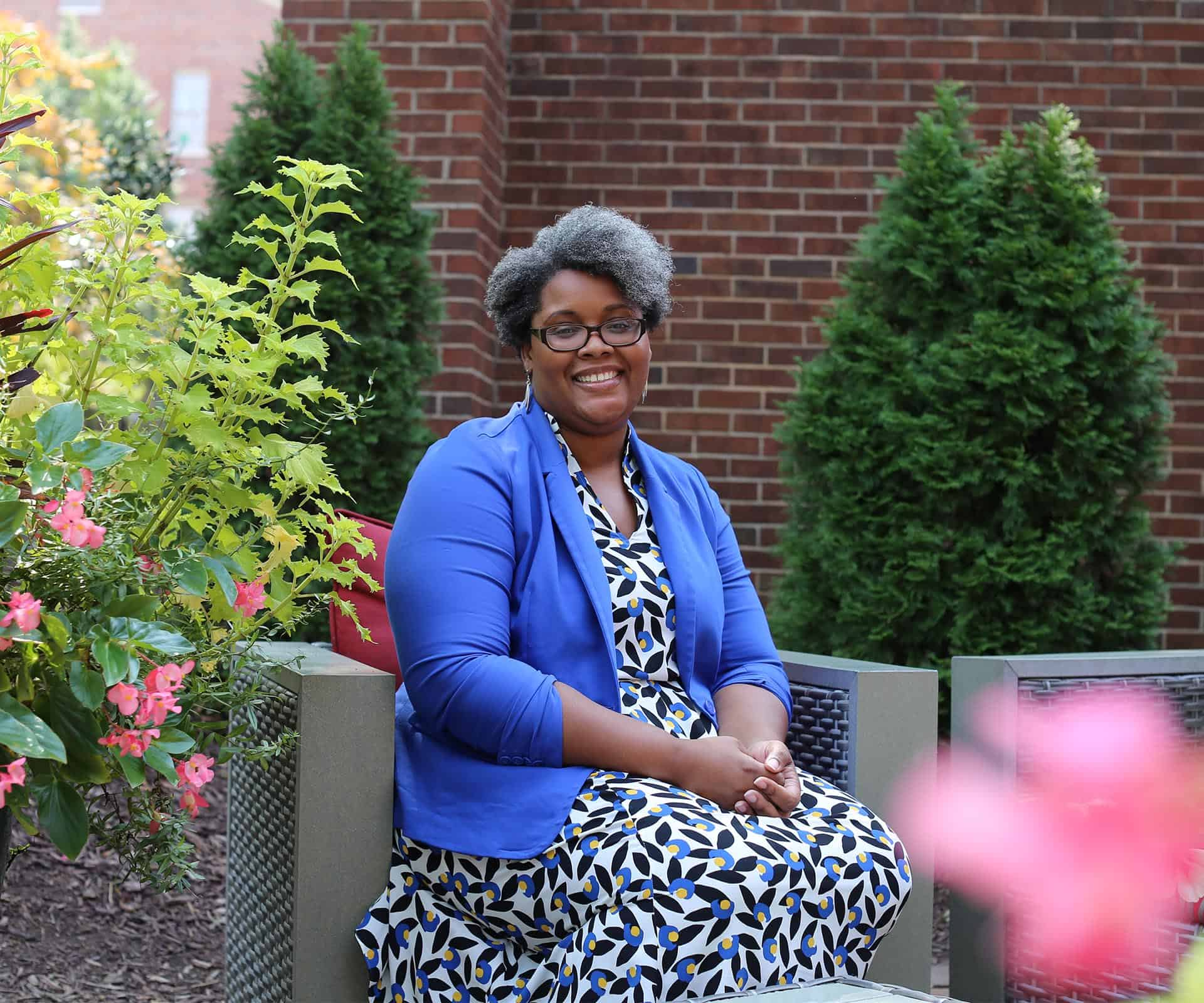 WPU Faculty member, Janelle Jennings-Alexander