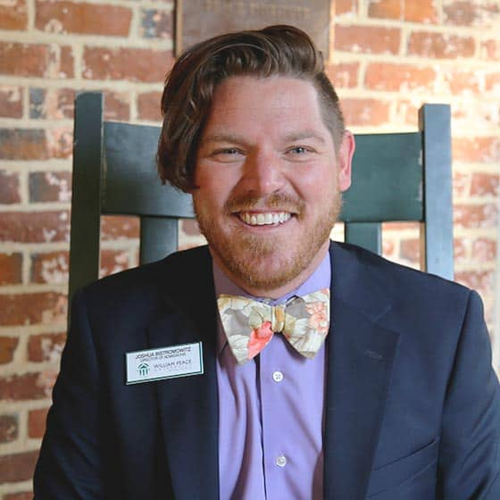 Joshua Bistromowitz is the WPU Director of Admissions