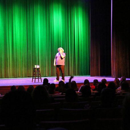 Kenan Auditorium is a great venue for shows & performances