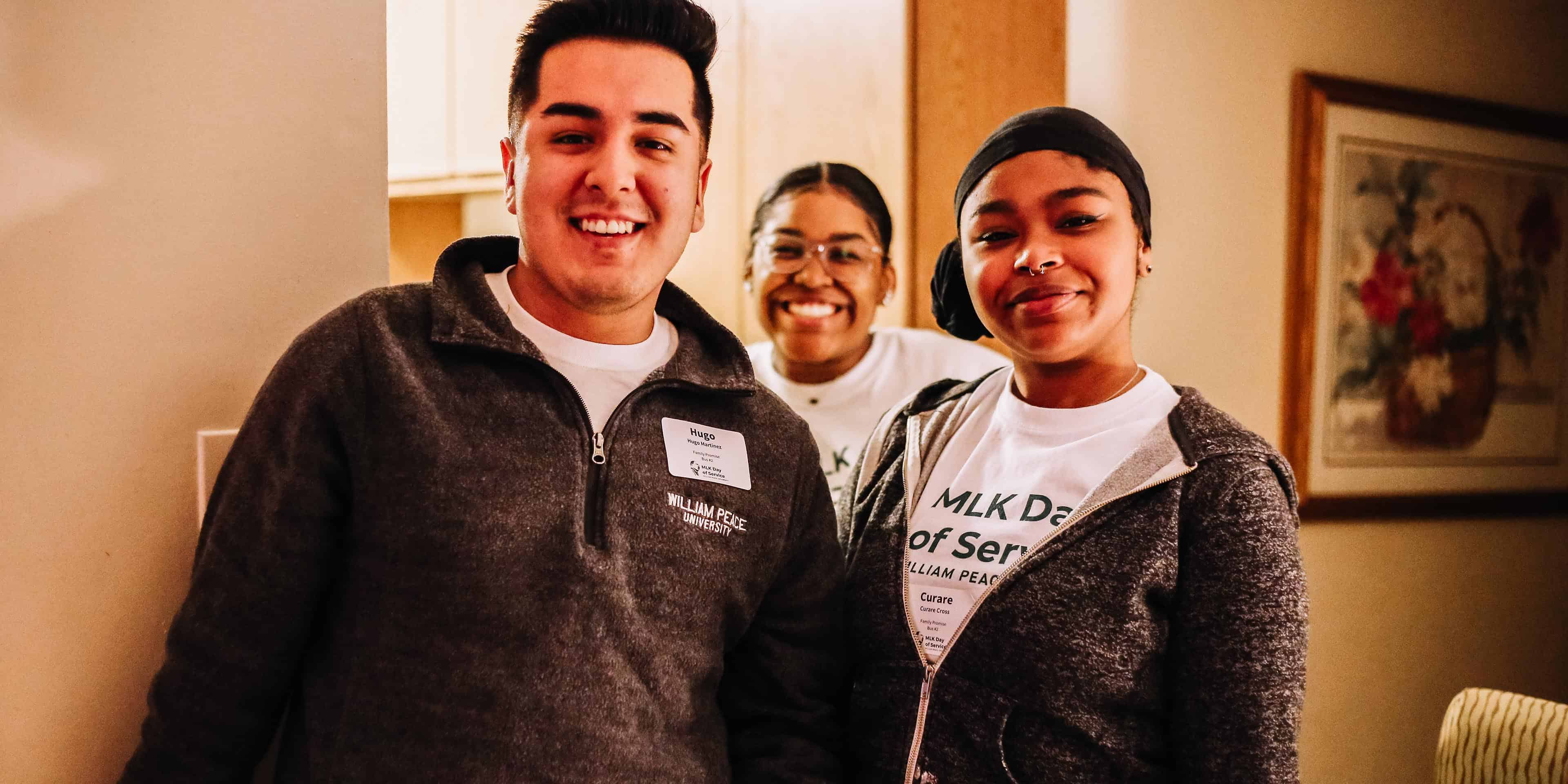 WPU Students volunteer for MLK Day of Service
