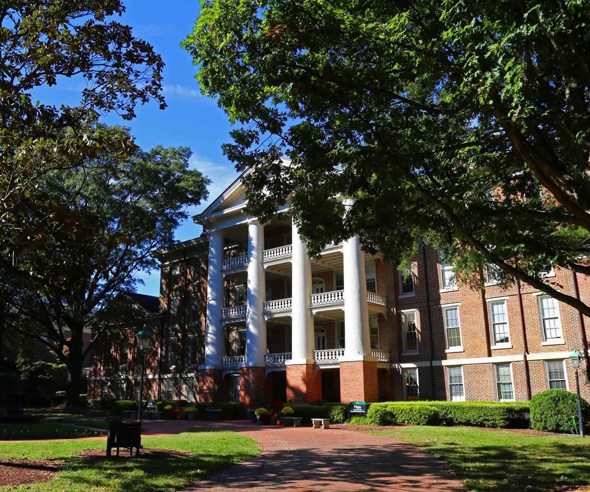 Main Building at WPU