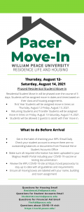 Pacer Move-In