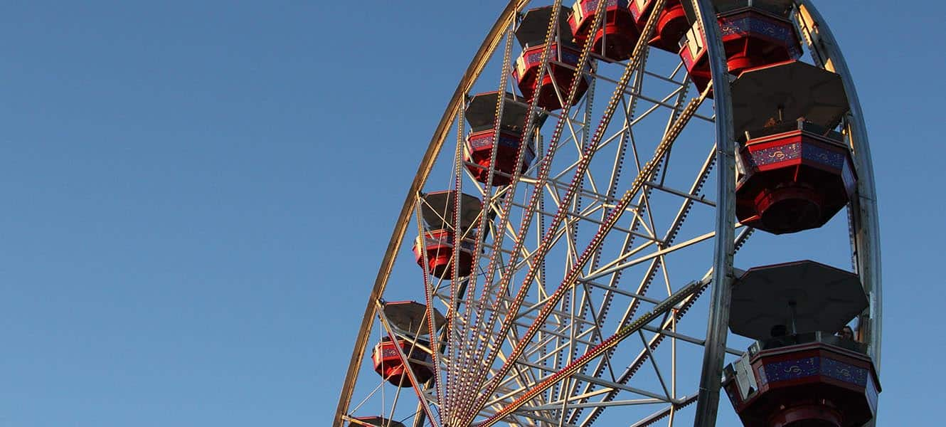 The NC State Fair is held every October