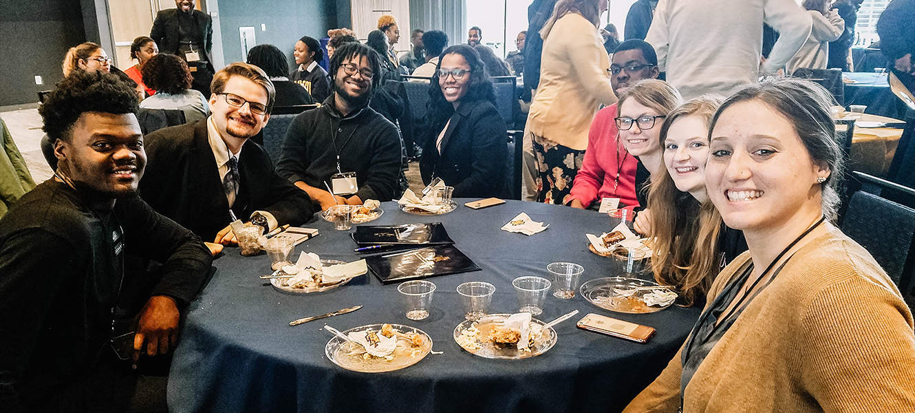 WPU students attend NCCMA Conference.