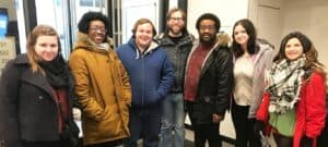 WPU Theatre students visit New York City.
