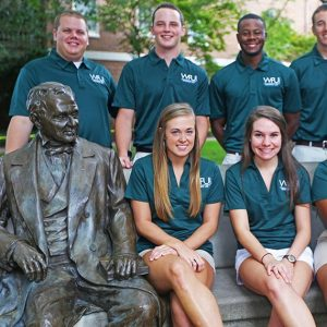 A picture of WPU RA's.