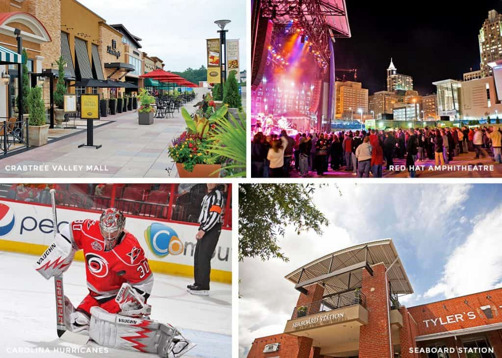 Raleigh offers loads of attractions