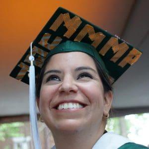 WPU SPS student on graduation day.