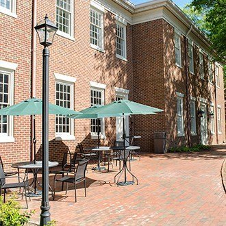 WPU Campus Patio Seating