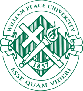 William Peace University official seal