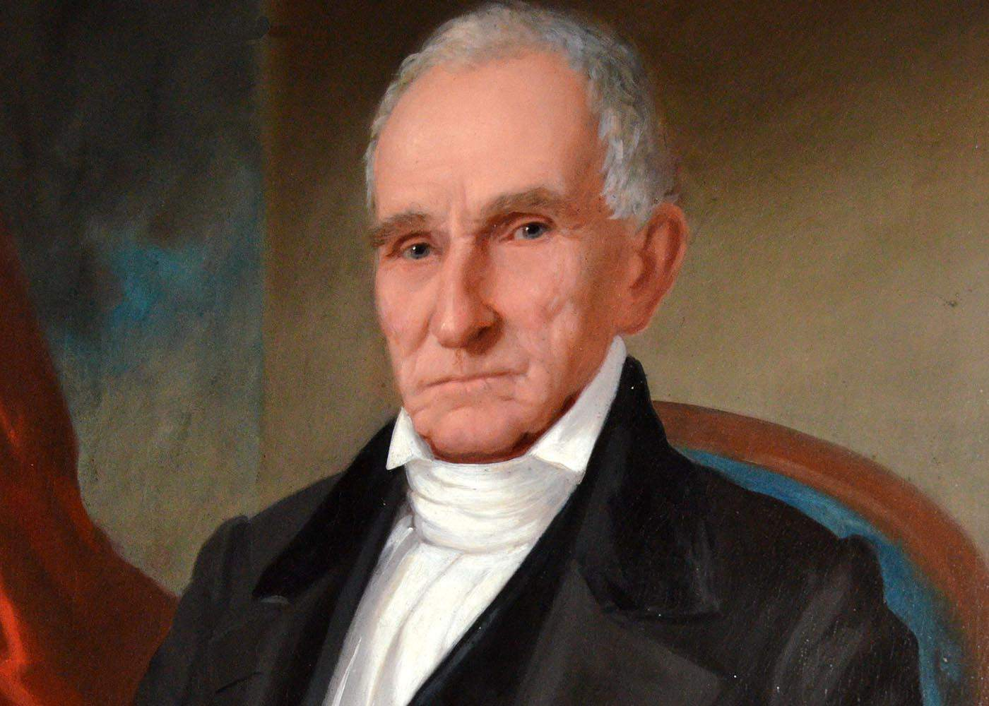 Portrait of WPU founder, William Peace.