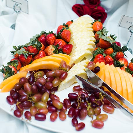 WPU offers catering and meal plans for guests