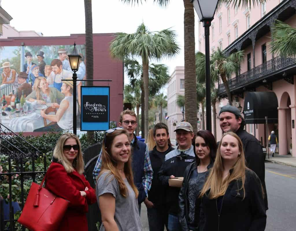 WPU Honors students visit Charleston, SC for an immersive learning trip