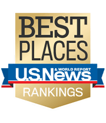 US News Best Places Rankings for Raleigh.