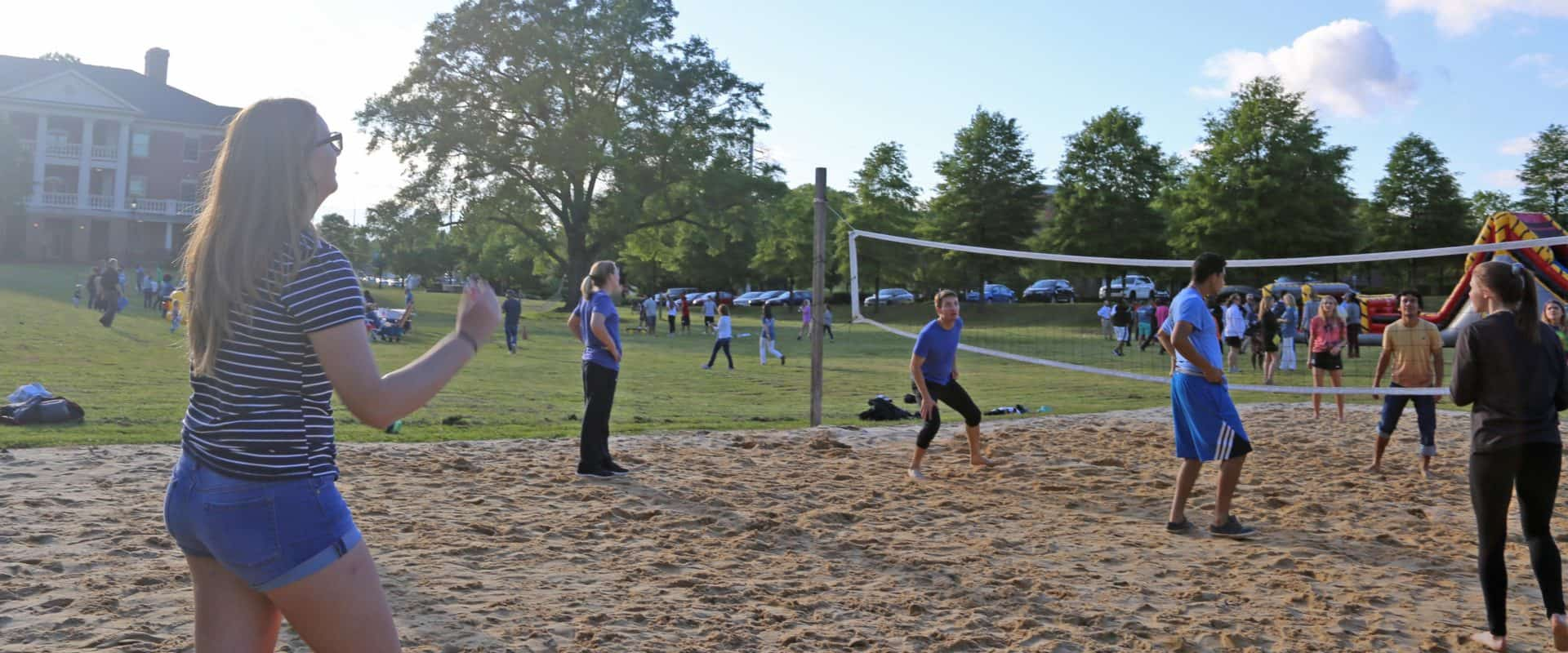 Intramurals are a great way to get involved on campus