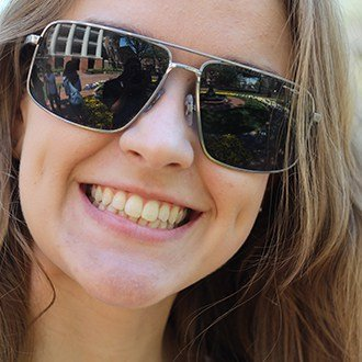 Happy Smiling WPU Student Outside